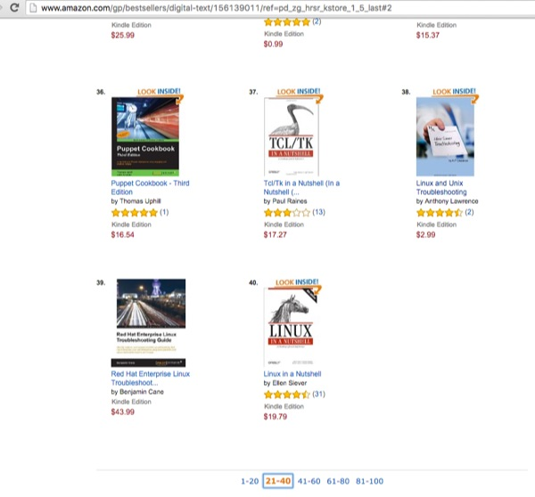 Amazon page as of October 2015