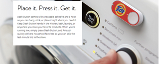 The Amazon dash button as they envision it