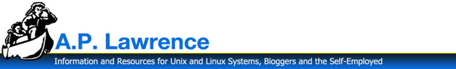APLawrence.com -  Resources for Unix and Linux Systems, Bloggers and the self-employed