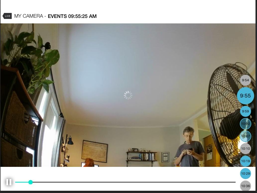 Circle Camera from iPad