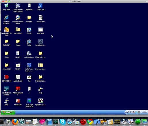 Controlling XP from the MAC