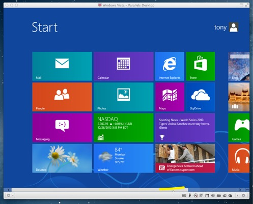 Win 8 ready to use