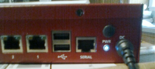Kerio Control Box running
