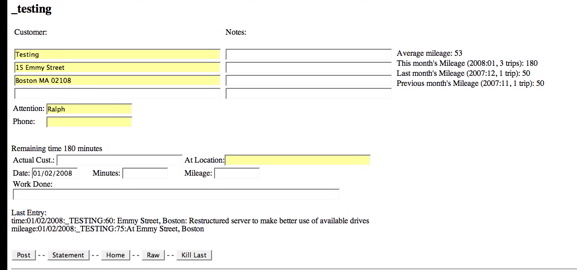 picture of form with multiple submits