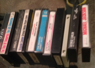 Old tapes found in an old box