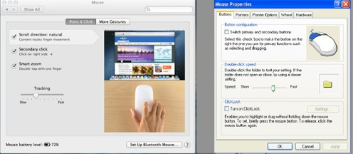 Setting up your mouse on Windows or Mac