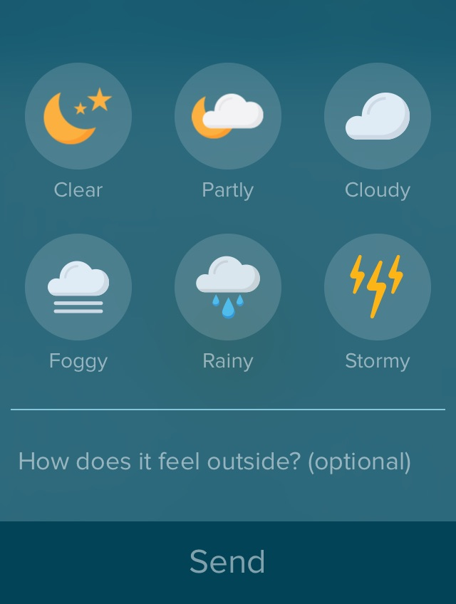 Sunshine weather app
