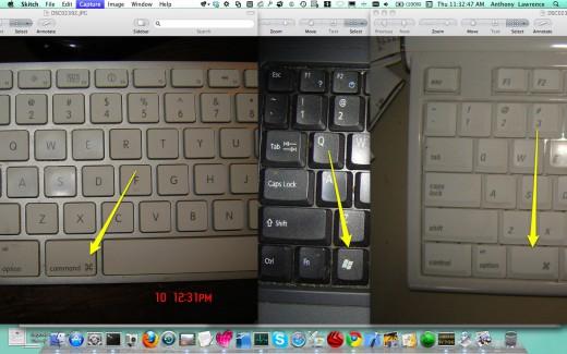 Spotlight keys