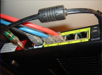 Verizon M1424WR router for FIOS TV
