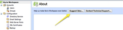 Workspace Feature Suggestions
